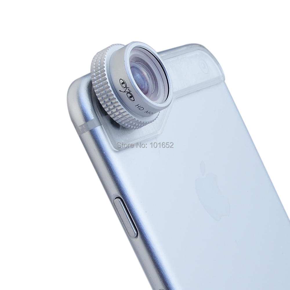 "Evileye 20X Macro lens Mobile Phone Camera Lens Professional Super Macro 20X for iPhone 6 4.7"" Lenses with Plate"
