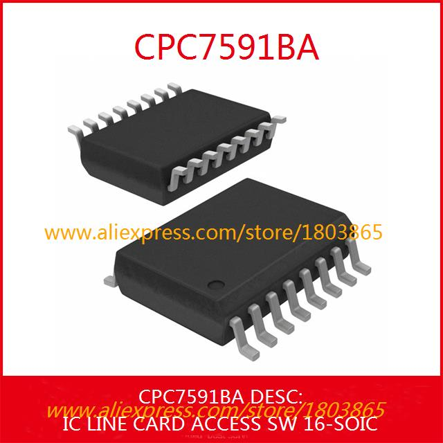 Free Shipping ELectronic CPC7591BA IC LINE CARD ACCESS SW 16-SOIC 7591 CPC7591 3pcs(China (Mainland))