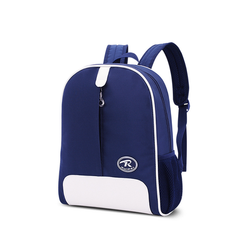 New Solid Student Children Backpack School Bags For Boys And Girls Mochilas Infantis Kindergarten Kids Bag 5Colors(China (Mainland))