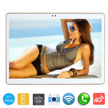 """2017 Newest DHL Free 10 inch Tablet PC MTK8752 Octa Core 4GB RAM 32GB ROM Dual SIM 5.0MP GPS 3G 1280*800 IPS Tablet 10""""+Gifts(China (Mainland))"""