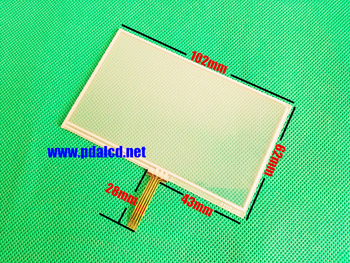 """wholesale"""" New 4.3-inch Touch screen panels for GARMIN Zumo 350 LM 350LM GPS Touchscreen digitizer panel replacement"""