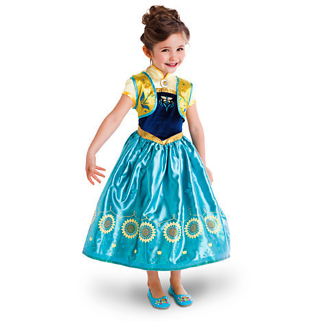 elsa dress vestido reine des neiges costume elza anna princess costume disfraz ana dress. Black Bedroom Furniture Sets. Home Design Ideas