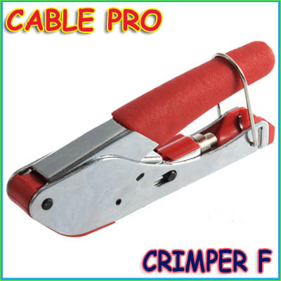 CABLE PRO COMPRESSION TOOL COAXIAL CRIMPER F RG6 RG59 Useful practical<br>