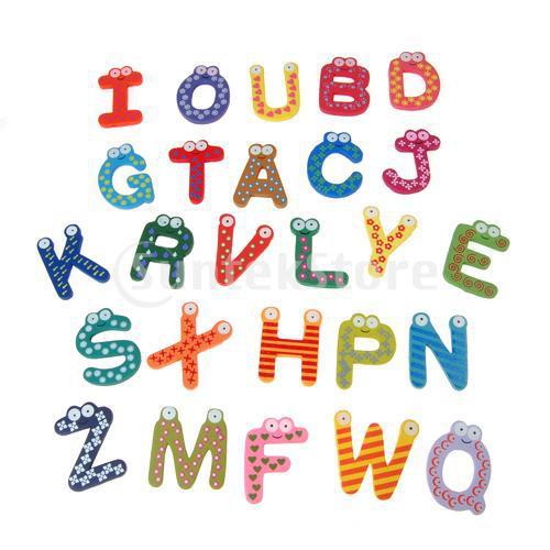 Aliexpresscom buy free shipping 26 a z letter alphabet for Buy magnetic alphabet letters