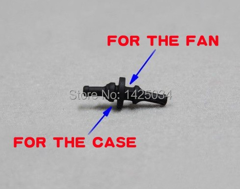 two-way high tenacity rubber nail,shock absorption for Computer FAN and Case FAN ,shock absorption,Soft nail(China (Mainland))
