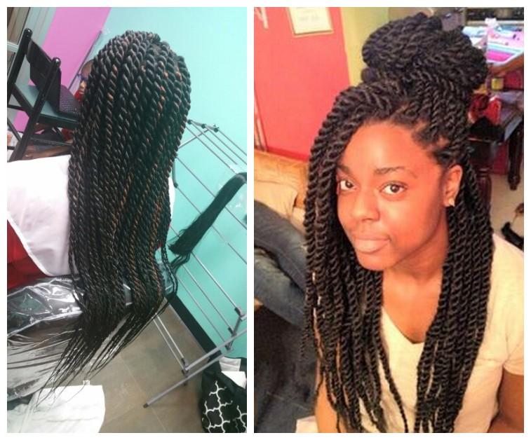 joedir synthetic hair weaving 18 inch Havana Twist Braids Crocher Hair ...