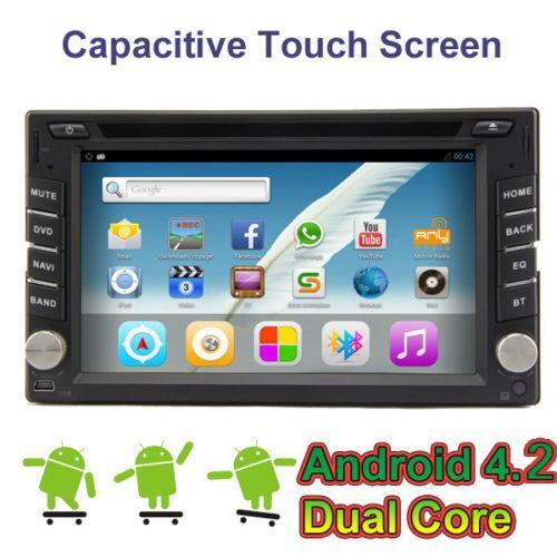 Android 4.2 Car DVD Player audio for NISSAN NAVARA Stereo Radio GPS Navigation BT IPOD USB SD Capacitive Screen 3G Wifi Free MAP(China (Mainland))