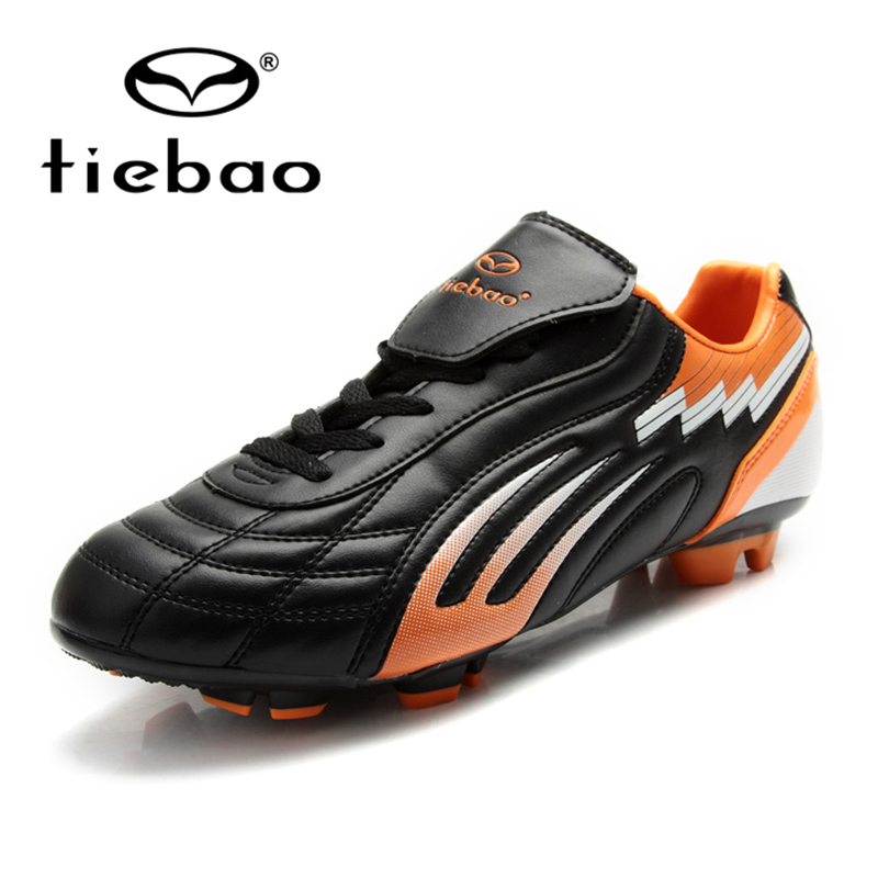2016 NEW TIEBAO For Men's Football Soccer Shoes Turf Rubber Sole Shoes TPU Sole Training Soccer Shoes Shoe(China (Mainland))