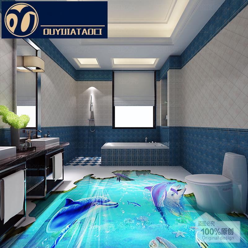 badezimmer boden 3d kreatives haus design. Black Bedroom Furniture Sets. Home Design Ideas