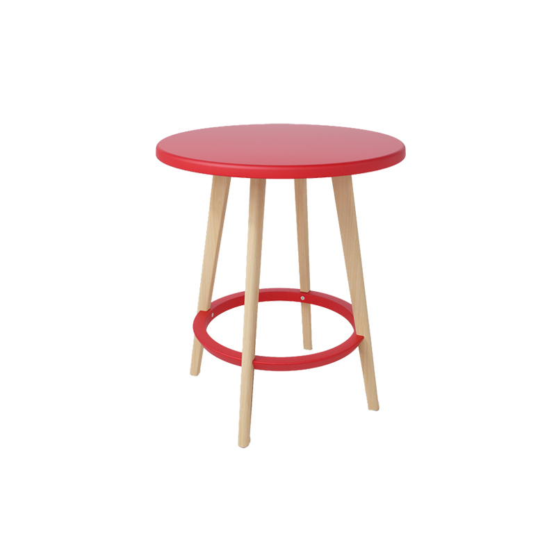 Cheap carpet nordic ikea creative wood small apartment for Cheap round wooden dining tables