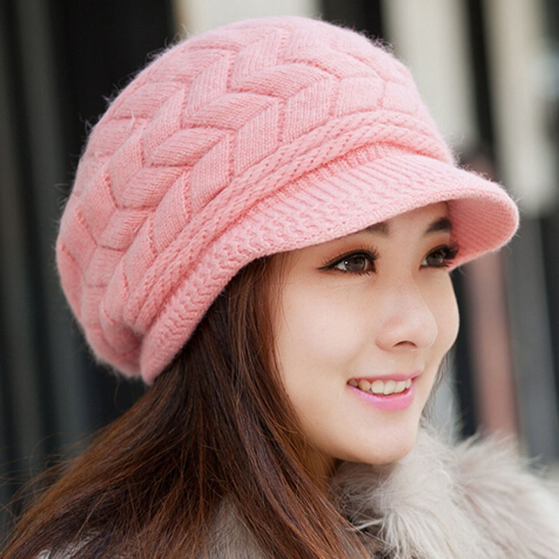2015 new Women winter hat knitted hat winter women's ...