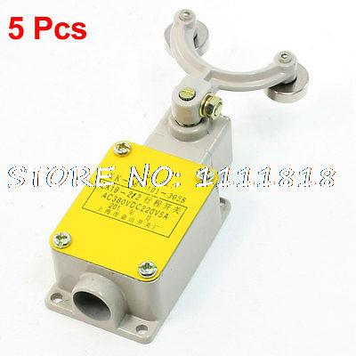5 Pcs Dual Rotary Roller Lever ArmCompact Enclosed Limit Switch LX19-212<br><br>Aliexpress