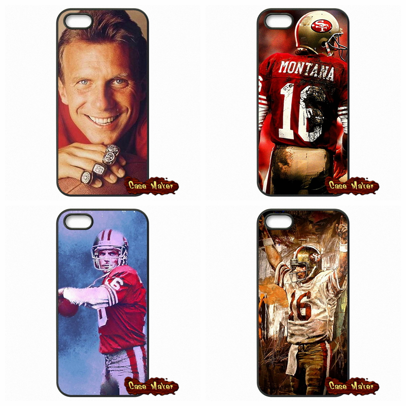For Huawei Ascend P6 P7 P8 P9 Lite Mate 8 Honor 3C 4C 5C 6 7 4X 5X G8 Plus Joe Montana Super Bowl MVP Star Case Cover(China (Mainland))