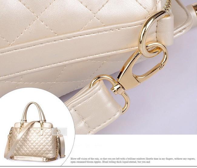 Elegant Brand Ladies Shoulder Bag Crossbody Plaid Women Tote Flap Bag