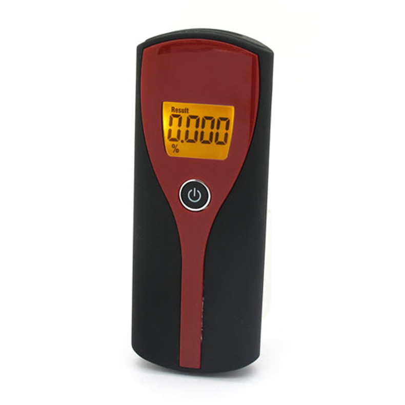 2016 New Digital Alcohol Breath Tester Easy Use Breathalyzer Alcohol Meter Analyzer Detector with LCD Backlight Display(China (Mainland))