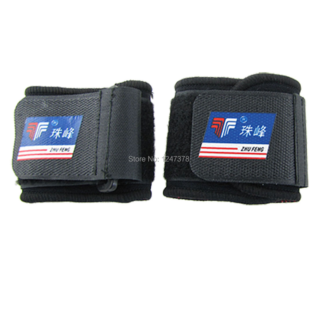 2 Pcs/lot Black Neoprene Wrist Brace Sleeve Support Protector(China (Mainland))