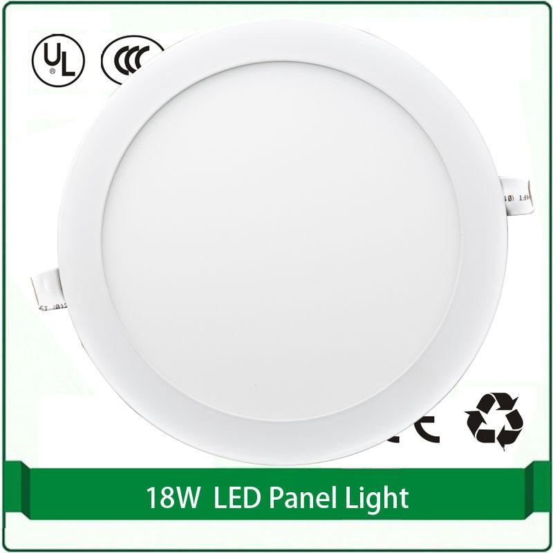 free shipping round flat panel light 18W super slim panel lights dia 220mm led panel round led panels led panel light round 18w<br><br>Aliexpress
