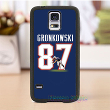 rob gronkowski jersey 4 cell phone case cover for Samsung Galaxy s3 s4 s5 note 3 note 4 note 5 s6 s7 s6 edge s7 edge #CG275(China (Mainland))