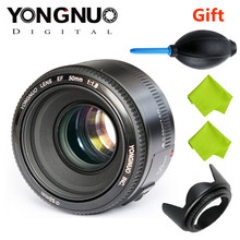 Buy Top YONGNUO YN50mm f1.8 YN EF 50mm f/1.8 AF Lens YN50 Aperture Auto Focus Canon EOS DSLR Cameras for $50.05 in AliExpress store