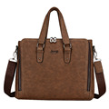 Man s Casual Messenger Briefcase Business Laptop Bags PU Leather Handbags Shoulder Bag Man Crossbody Travel