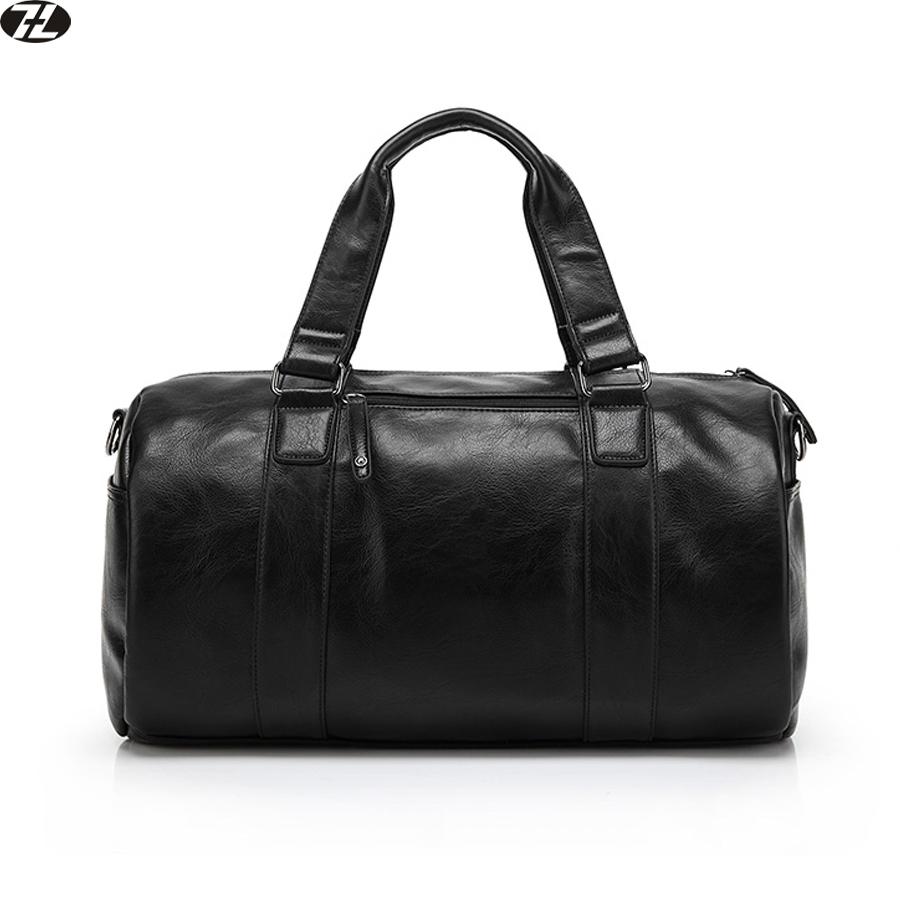 genuine leather men travel bag high quality men messenger duffel bag business men crossbody shoulder bag casual tote handbag(China (Mainland))