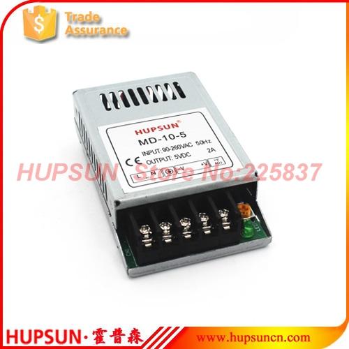 10w MD-10 ac-dc 220v 3.3v 3A 5v 2A 12v 1A 24v 0.5A mini slim switching power supply source LED driver(China (Mainland))