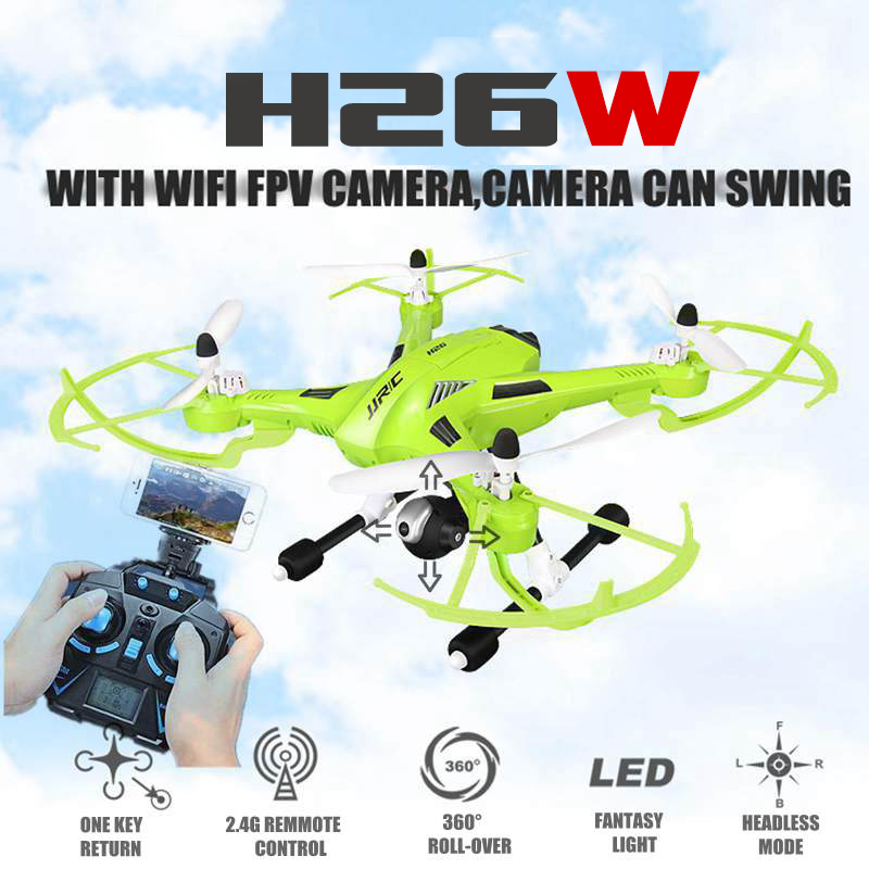 2016 New Original JJRC H26W 2.4G 4CH 6 Axis Gyro RC Wifi FPV Quadcopter Real-time Transmission Drone with 2.0MP HD Camera<br><br>Aliexpress