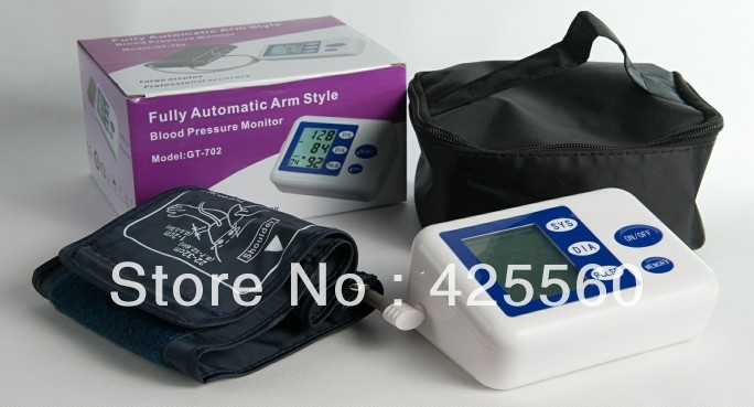 Automatic Digital Upper Arm Electronic Blood Pressure Monitor(China (Mainland))