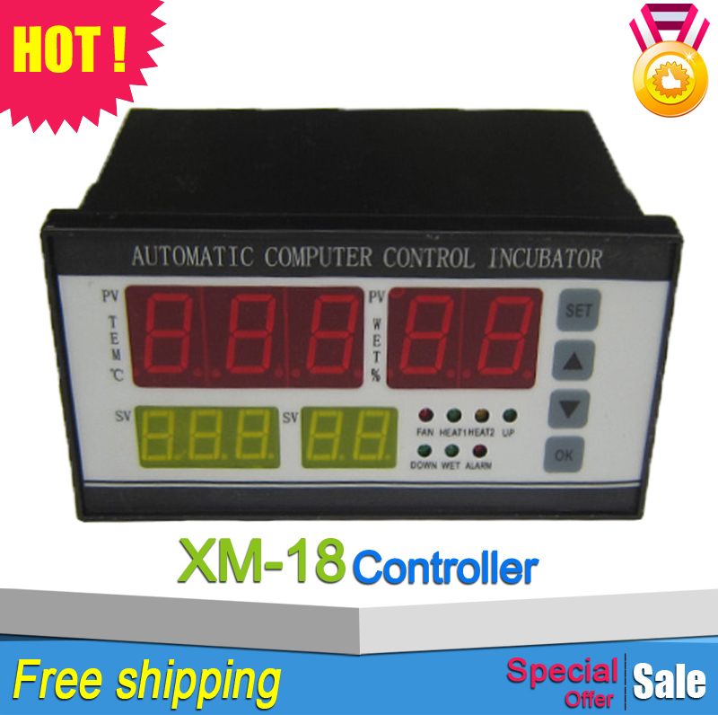 Precisely control temperature and humidity controller for incubator xm-18(China (Mainland))