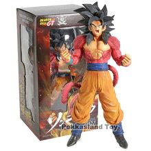 Dragon Ball Z GT Super Saiyan Goku Son Goku Super Estrelas Mestre Pedaço MSP SS4 4 Dragonball Modelo Collectible Figure brinquedo PVC(China)