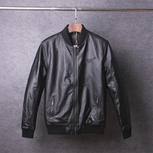 Autumn Winter Jaqueta Couro Masculino Hooded Fashion Causal Dress Faux Sheepskin PU Leather Jacket Men Brand Motocycle Jacket