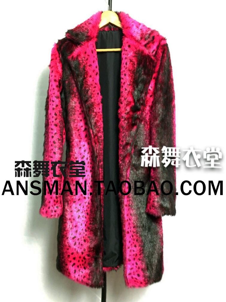 Popular Pink Fur Coat Men-Buy Cheap Pink Fur Coat Men lots from