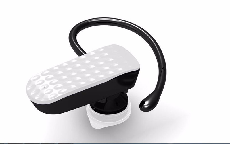 Handsfree Bluetooth Wireless Earphone  Voice Control With Mic Mono Bluetooth Headset For IPhone For Samsung For HTC For Xiaomi