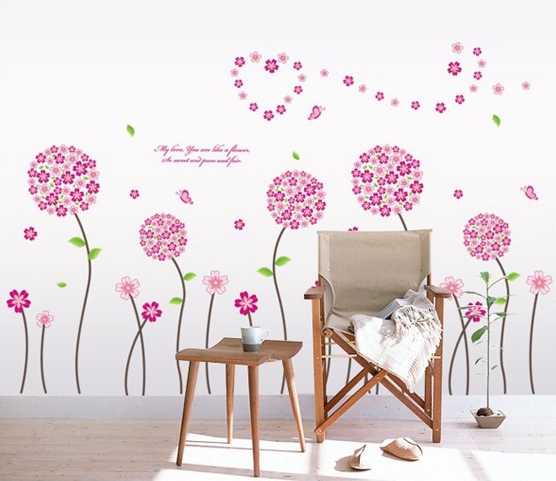 Aliexpress Com Acheter Rose Pandora Fleur Arbre Stickers