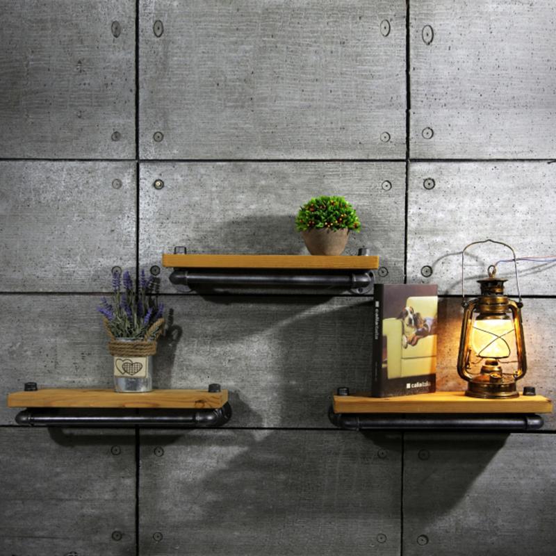 Online kopen wholesale hout metalen plank uit china hout metalen plank groothandel - Plank keuken opslag ...