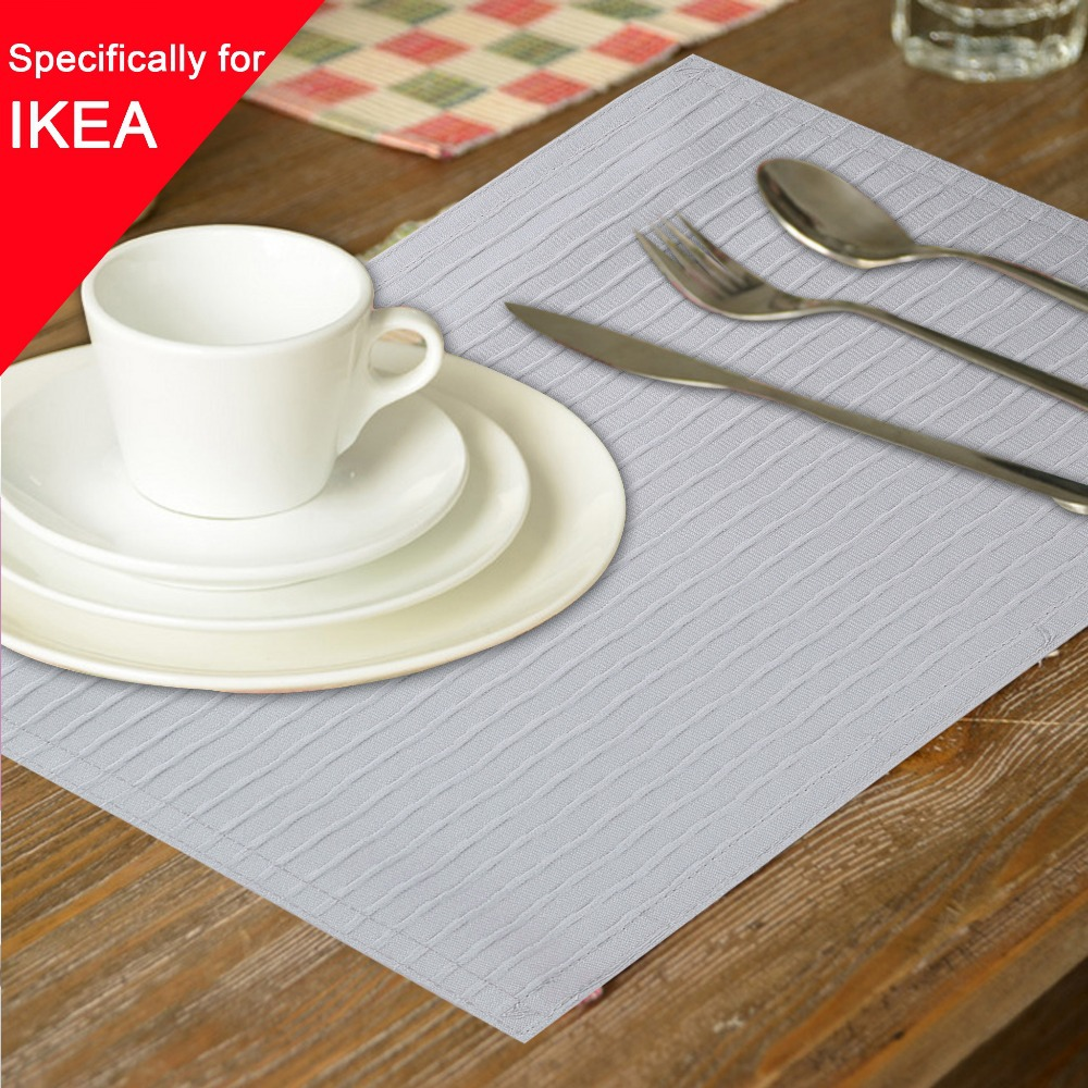1pcs/lot Traycloth 30x43cm Isinotex Placemat Coasters Mat Pad Tray Cloth Kitchen Accessories Placemats For Table Cooking(China (Mainland))
