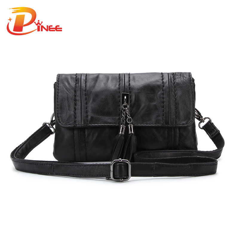 Wonderful Genuine Leather Small Women Messenger Bags With High Quality Famous