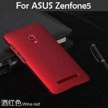 Масло — покрытием резиновый матовая жесткий чехол для ASUS Zenfone5 zenfone 5 A501CG A500CG тонкий матовый матовый задняя крышка пластиковый чехол XJQ
