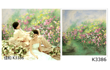 10*20ft Hand Painted Scenic cloth Backdrop,background flower k3386,photo photographie studio,muslin studio background backdrop