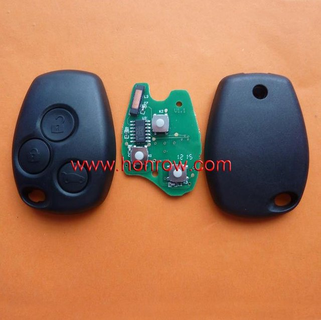 High Quality Renault Clio&Kango 3 button remote key  free shipping