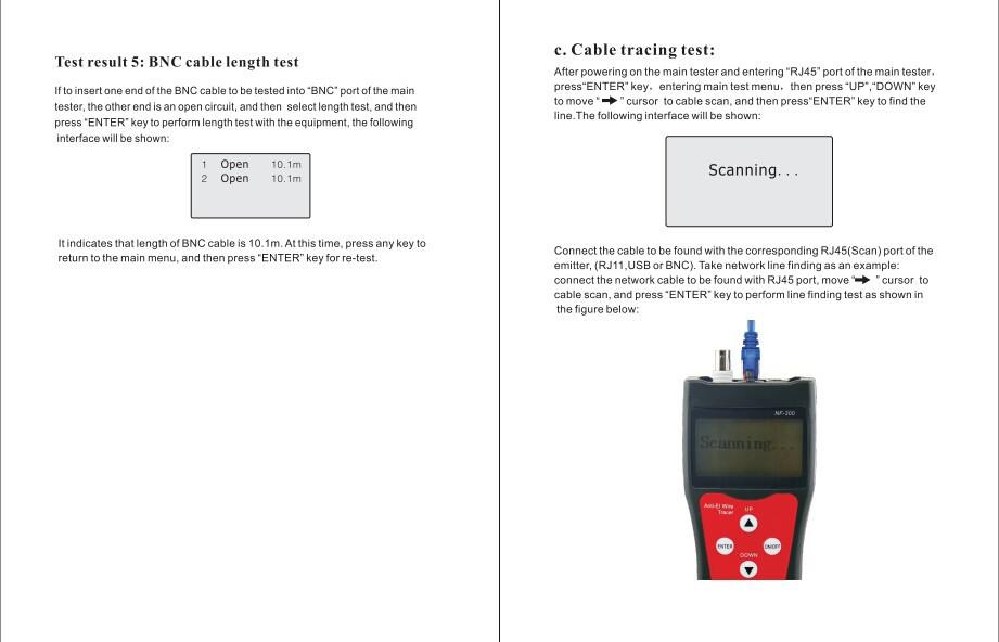 datashark rj45 network tester manual