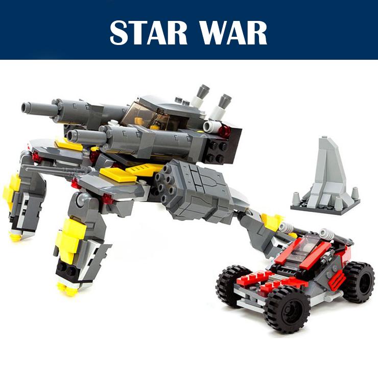 2015 New Storm Attacks 342PCS Spaceship War Chariot Star Wars Building Blocks Bricks Starwars