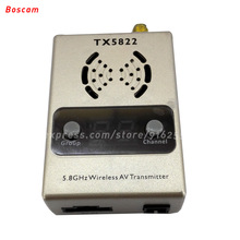 BOSCAM rc fpv video transmitter 5.8ghz 2200MW 32CH LED long range wireless av model quadcopter TX for helicopter airplane drone