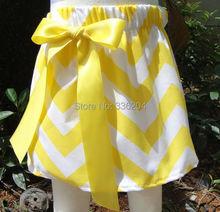 newest chevron skirts for girls zig zag skirts(China (Mainland))