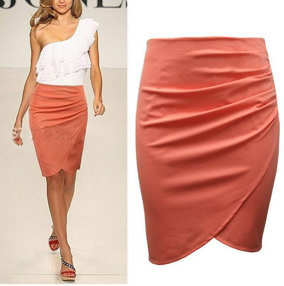 office skirt summer knee length pencil skirts 2015