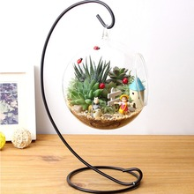 DIY Hydroponic Plant Flower Hanging Glass Vase Container Home Garden Decor new arrival(China (Mainland))