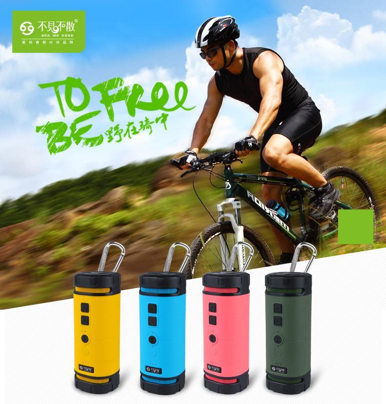 BV350 Outdoor Sports Hands-free bicycle Waterproof Shockproof bluetooth Speaker<br><br>Aliexpress