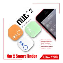 2015 Nut 2 Smart Tag Bluetooth Tracker bag Key Finder Alarm Locator Multitasking management for Android 4 Colors