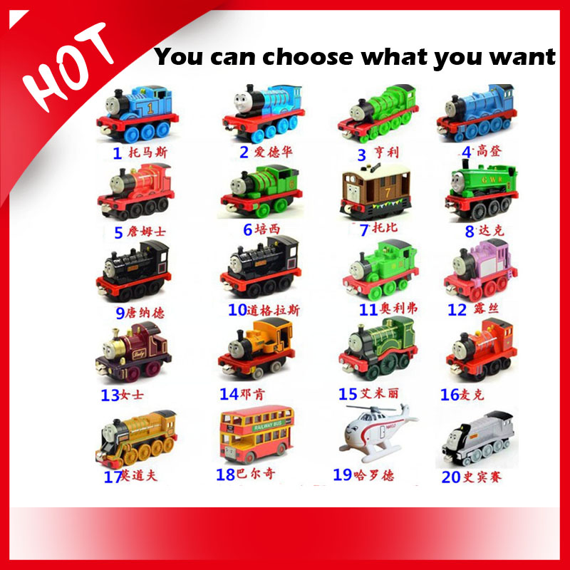 Thomas Train family 100% Original Thomas & Friends diecast metal train Models the tank engine toys Rosie Percy Thomas Mike Lady(China (Mainland))