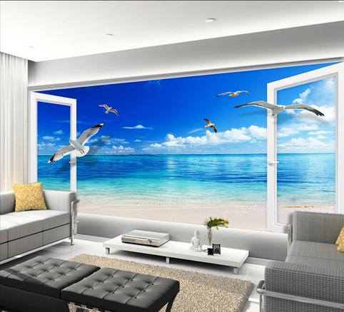 Meer dan 1000 idee n over foto muurschildering op pinterest muurschilderingen foto muren en - Modern behang voor volwassen kamer ...